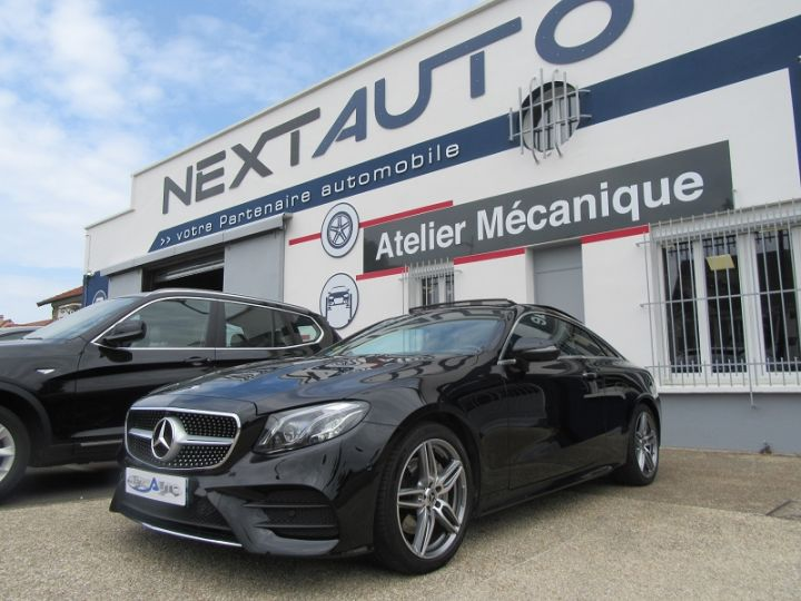 Mercedes Classe E (C238) 220 D 194CH FASCINATION 9G-TRONIC Noir Occasion - 1