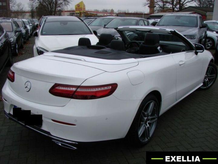 Mercedes Classe E CABRIOLET 200 SPORTLINE 9G TRONIC  BLANC Occasion - 7