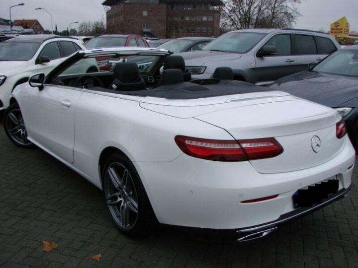 Mercedes Classe E CABRIOLET 200 SPORTLINE 9G TRONIC  BLANC Occasion - 8