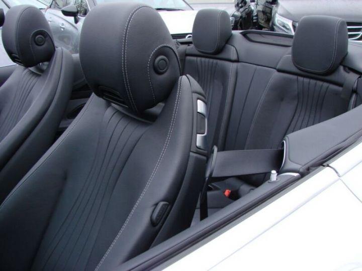 Mercedes Classe E CABRIOLET 200 SPORTLINE 9G TRONIC  BLANC Occasion - 16