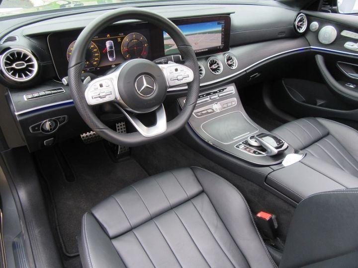 Mercedes Classe E CABRIOLET 220 D 194CH AMG LINE 9G-TRONIC Gris Fonce Occasion - 2