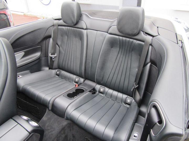 Mercedes Classe E CABRIOLET 220 D 194CH AMG LINE 9G-TRONIC Gris Fonce Occasion - 11