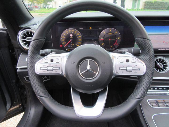 Mercedes Classe E CABRIOLET 220 D 194CH AMG LINE 9G-TRONIC Gris Fonce Occasion - 13