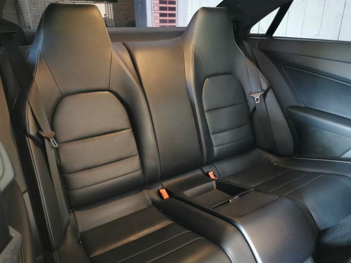 Mercedes Classe E COUPE 220 CDI 170 CV EXECUTIVE BVA Noir - 10