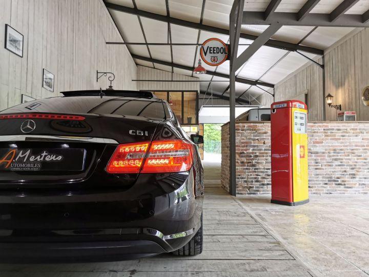 Mercedes Classe E COUPE 220 CDI 170 CV EXECUTIVE BVA Noir - 15