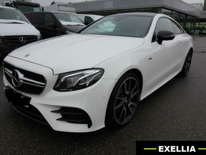 Mercedes Classe E COUPE 53 AMG 4 MATIC BLANC  Occasion - 1