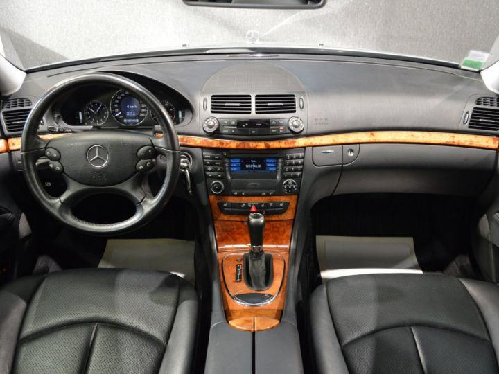 Mercedes Classe E E280 CDI W211 PH2 3.0l V6 190ch 7G TRONIC ELEGANCE HISTORIQUE COMPLET XENON CUIR GPS GRIS FONCE - 8
