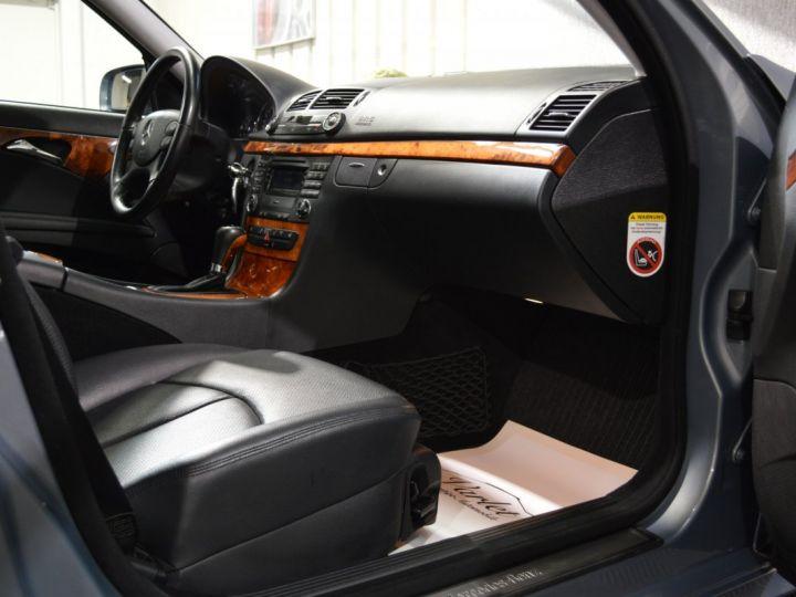 Mercedes Classe E E280 CDI W211 PH2 3.0l V6 190ch 7G TRONIC ELEGANCE HISTORIQUE COMPLET XENON CUIR GPS GRIS FONCE - 9