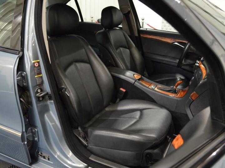 Mercedes Classe E E280 CDI W211 PH2 3.0l V6 190ch 7G TRONIC ELEGANCE HISTORIQUE COMPLET XENON CUIR GPS GRIS FONCE - 11