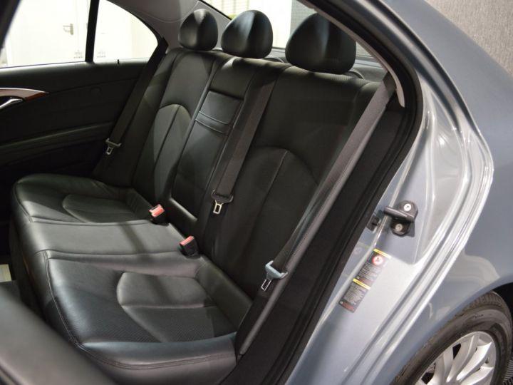 Mercedes Classe E E280 CDI W211 PH2 3.0l V6 190ch 7G TRONIC ELEGANCE HISTORIQUE COMPLET XENON CUIR GPS GRIS FONCE - 12