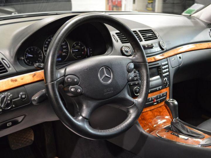 Mercedes Classe E E280 CDI W211 PH2 3.0l V6 190ch 7G TRONIC ELEGANCE HISTORIQUE COMPLET XENON CUIR GPS GRIS FONCE - 13