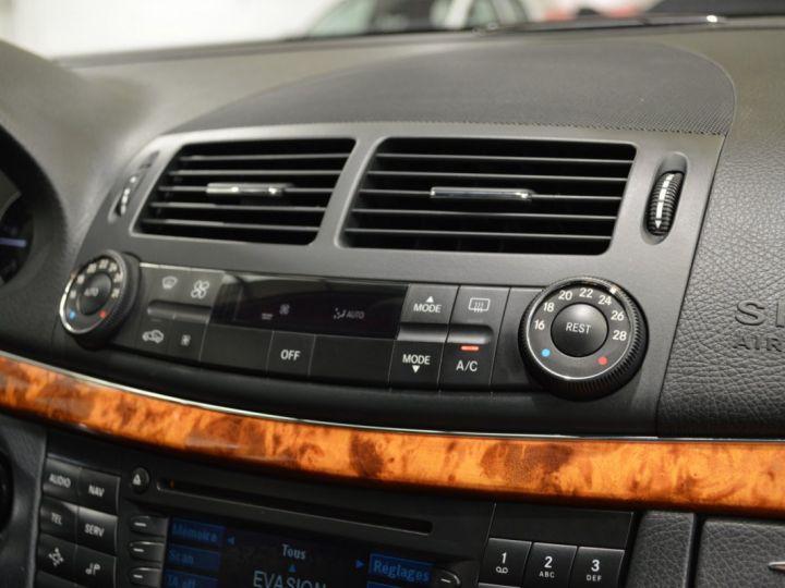 Mercedes Classe E E280 CDI W211 PH2 3.0l V6 190ch 7G TRONIC ELEGANCE HISTORIQUE COMPLET XENON CUIR GPS GRIS FONCE - 14
