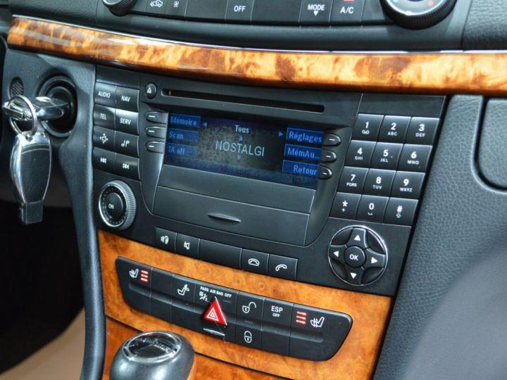 Mercedes Classe E E280 CDI W211 PH2 3.0l V6 190ch 7G TRONIC ELEGANCE HISTORIQUE COMPLET XENON CUIR GPS GRIS FONCE - 15