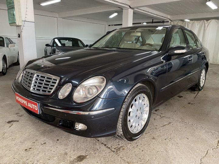 Mercedes Classe E (W211) 320 CDI ELEGANCE BA Bleu F - 1
