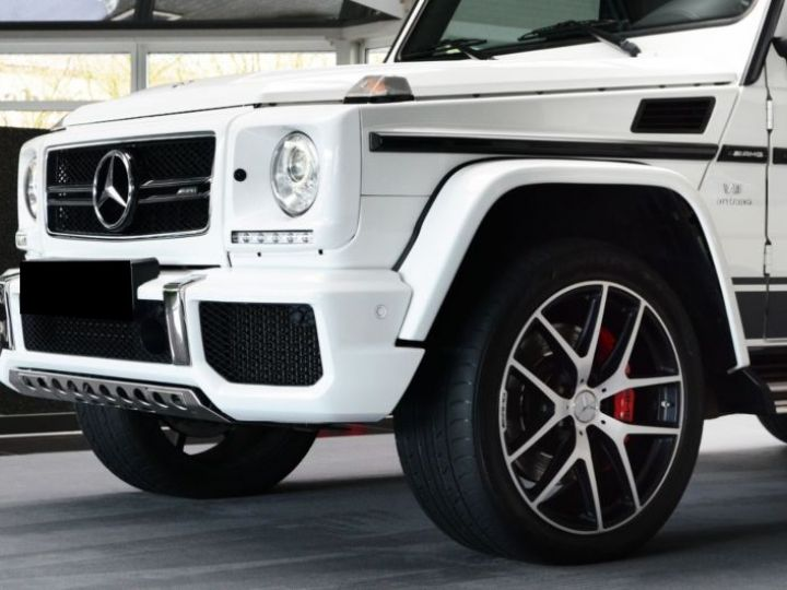 Mercedes Classe G 63 AMG 571CH BREAK LONG EDITION 463 7G-TRONIC SPEEDSHIFT + BLANC Occasion - 5