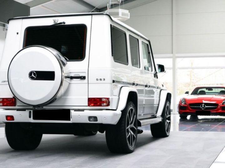 Mercedes Classe G 63 AMG 571CH BREAK LONG EDITION 463 7G-TRONIC SPEEDSHIFT + BLANC Occasion - 8