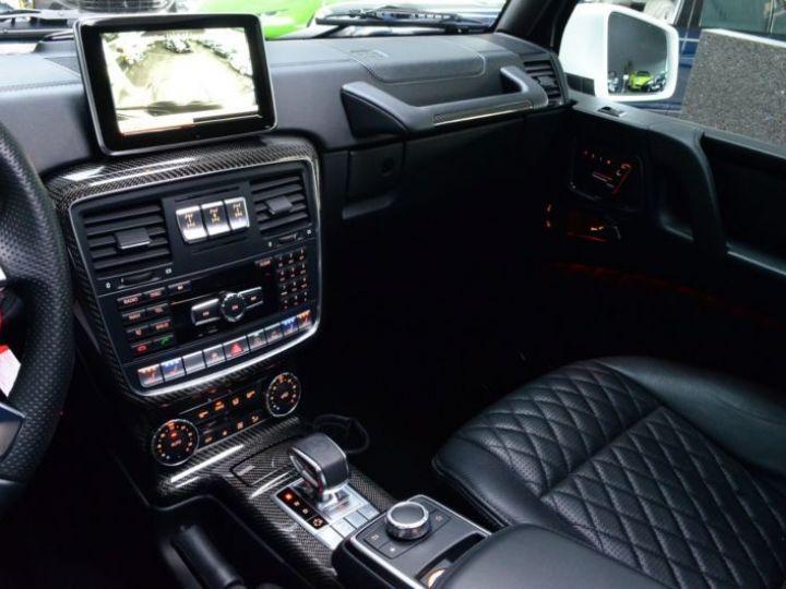 Mercedes Classe G 63 AMG 571CH BREAK LONG EDITION 463 7G-TRONIC SPEEDSHIFT + BLANC Occasion - 13