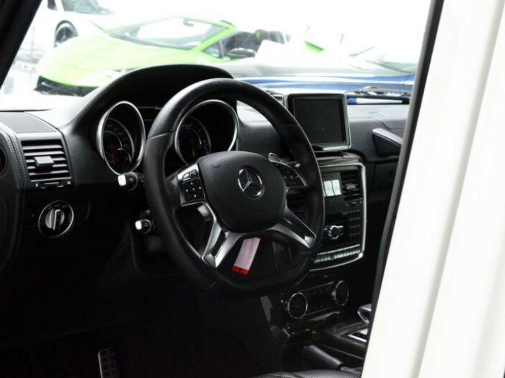Mercedes Classe G 63 AMG 571CH BREAK LONG EDITION 463 7G-TRONIC SPEEDSHIFT + BLANC Occasion - 18