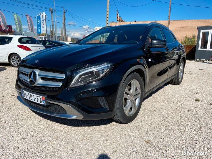 Mercedes Classe GLA 220 cdi 4matic 16v 170 cv fascination Noir Occasion - 1