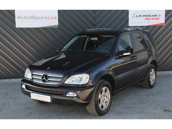 Mercedes Classe ML 350 Final Edition ETHANOL Bleu Métal - 1