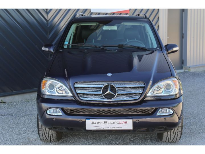 Mercedes Classe ML 350 Final Edition ETHANOL Bleu Métal - 2