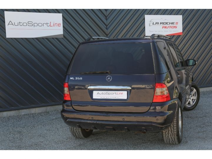 Mercedes Classe ML 350 Final Edition ETHANOL Bleu Métal - 6