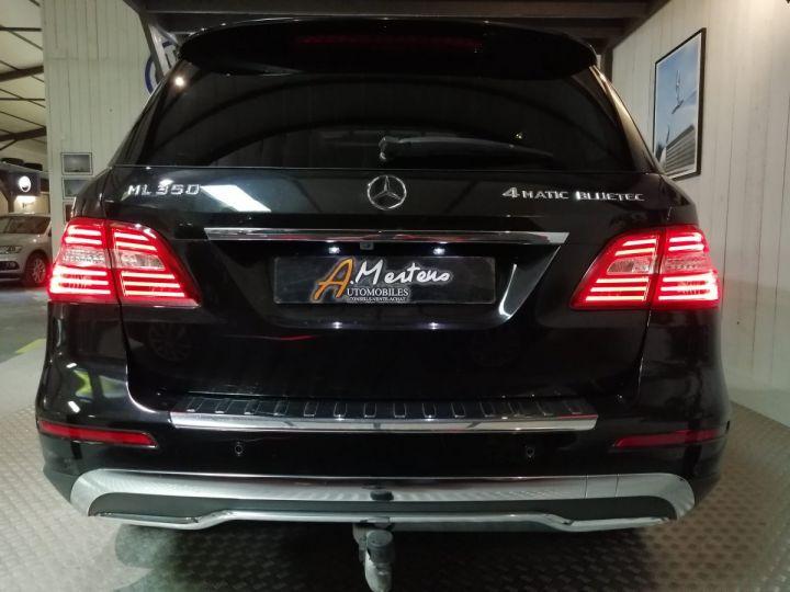 Mercedes Classe ML 350D 258 CV FASCINATION 4MATIC BVA Noir - 3