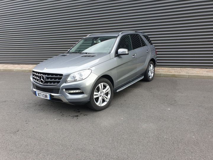 Mercedes Classe ML iii 3. 250 4 matic sport 7 tronic Gris Anthracite Occasion - 1