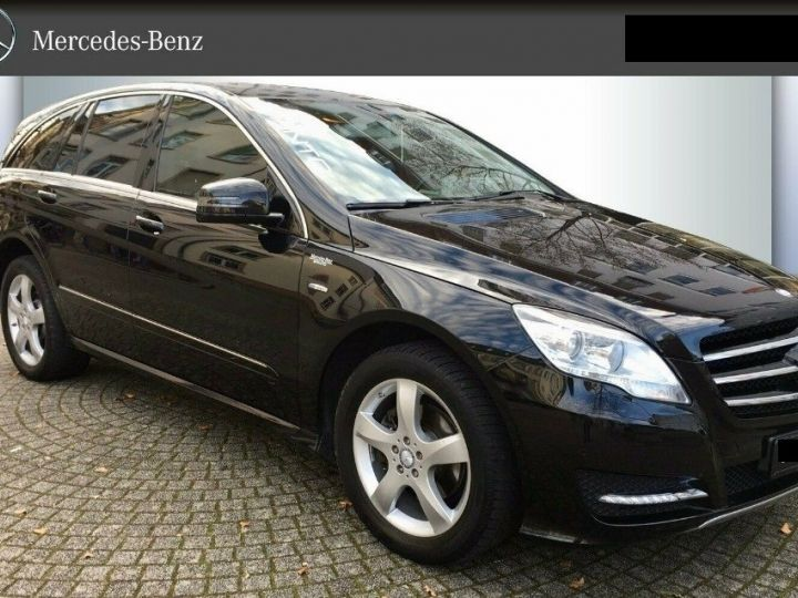 Mercedes Classe R 300 CDI BLUEEFFICIENCY  7G-TRONIC (05/2012) 5 places. noir métal - 1