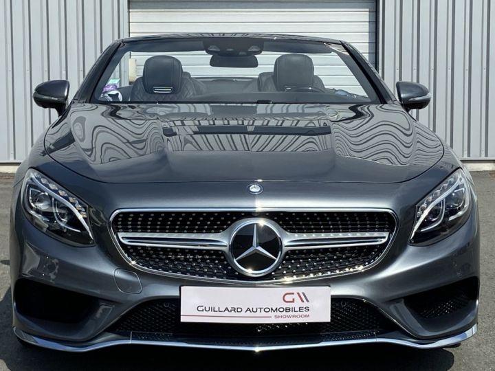 Mercedes Classe S 500 4.7 V8 BI-TURBO 455ch 9G-TRONIC GRIS FONCE - 2