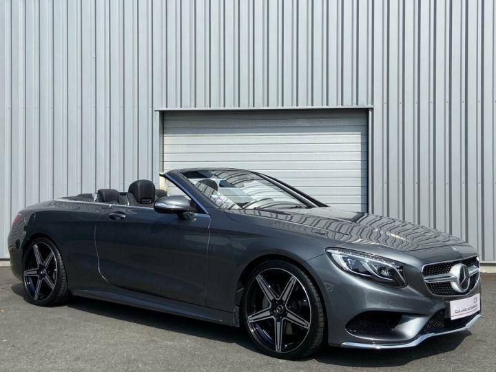 Mercedes Classe S 500 4.7 V8 BI-TURBO 455ch 9G-TRONIC GRIS FONCE - 3