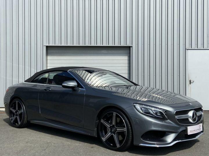 Mercedes Classe S 500 4.7 V8 BI-TURBO 455ch 9G-TRONIC GRIS FONCE - 5
