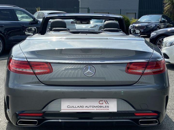 Mercedes Classe S 500 4.7 V8 BI-TURBO 455ch 9G-TRONIC GRIS FONCE - 8