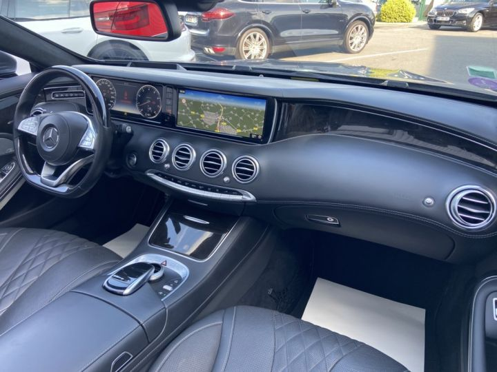 Mercedes Classe S 500 4.7 V8 BI-TURBO 455ch 9G-TRONIC GRIS FONCE - 14