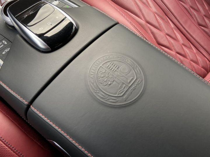 Mercedes Classe S 63 AMG 5.5 V8 BI-TURBO 585ch EDITION 1 4MATIC SPEEDSHIFT NOIR - 20