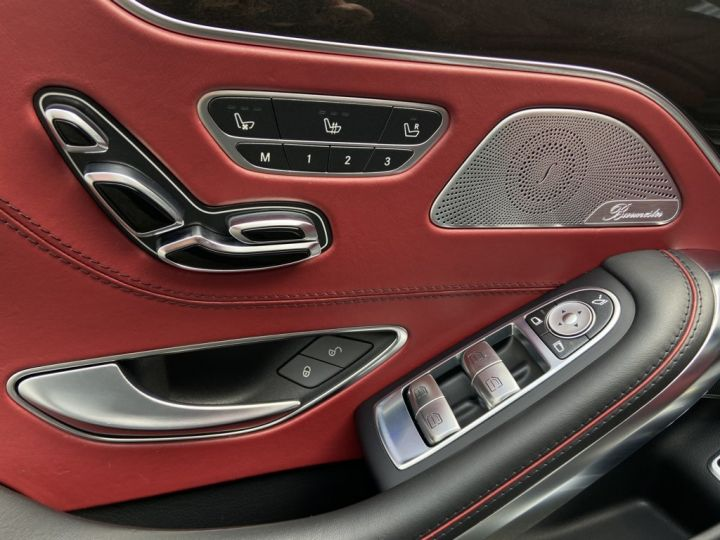 Mercedes Classe S 63 AMG 5.5 V8 BI-TURBO 585ch EDITION 1 4MATIC SPEEDSHIFT NOIR - 22