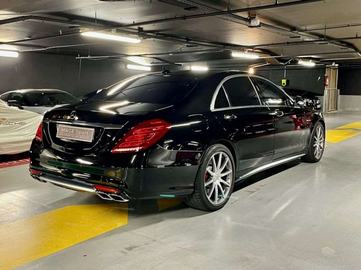 Mercedes Classe S 63 AMG L 4-Matic Noir Occasion - 3