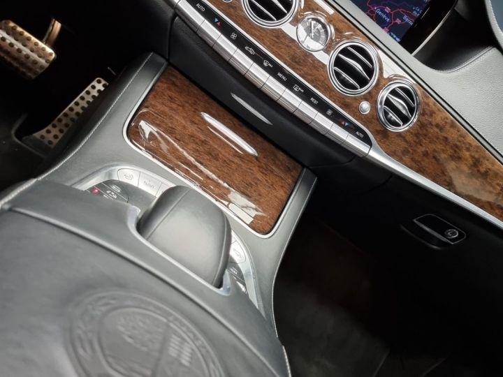 Mercedes Classe S 63S AMG 5.5 V8 Bi-turbo 585ch Noir - 6