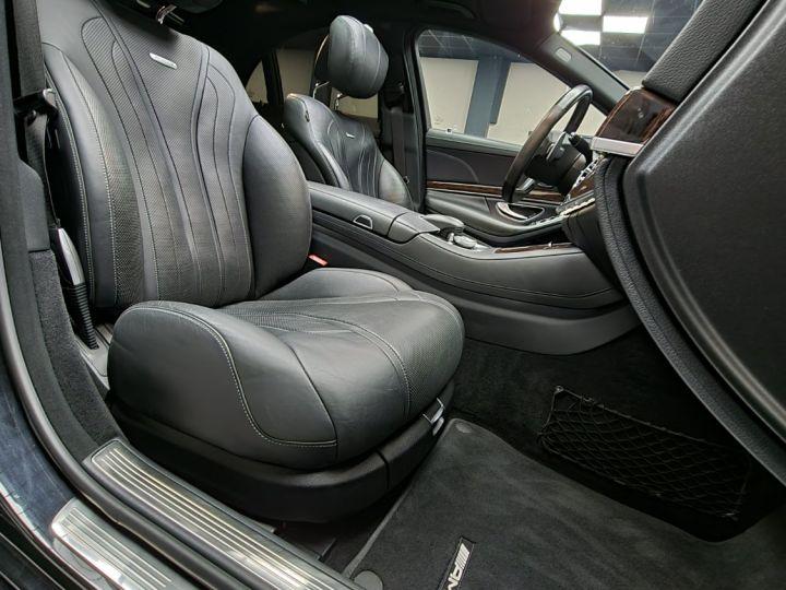 Mercedes Classe S 63S AMG 5.5 V8 Bi-turbo 585ch Noir - 5