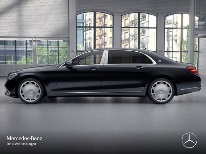 Mercedes Classe S MAYBACH 560 4MATIC 4.0 V8 bi-turbo noir/schwarz - 4