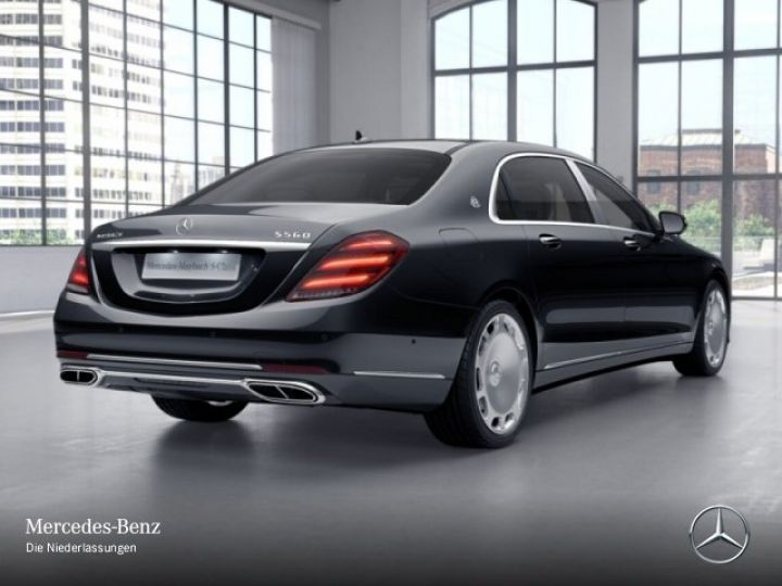 Mercedes Classe S MAYBACH 560 4MATIC 4.0 V8 bi-turbo noir/schwarz - 10