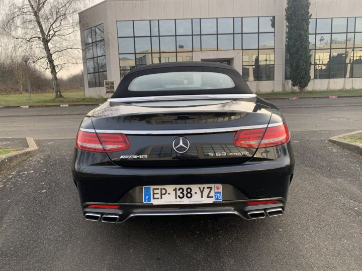 Mercedes Classe S S 63 AMG COUPE CABRIOLET NOIR ANTRANCITE Occasion - 4