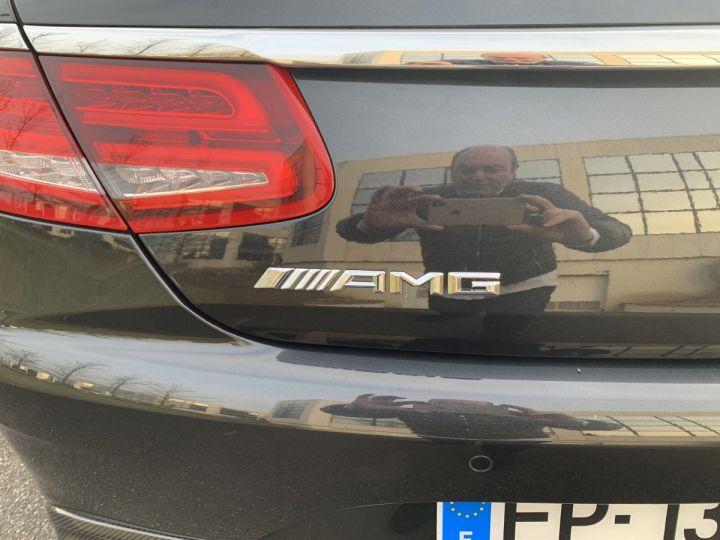 Mercedes Classe S S 63 AMG COUPE CABRIOLET NOIR ANTRANCITE Occasion - 9