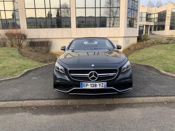 Mercedes Classe S S 63 AMG COUPE CABRIOLET NOIR ANTRANCITE Occasion - 2