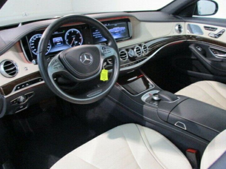 Mercedes Classe S VII 350 D EXECUTIVE 4MATIC 9G-TRONIC (TOIT PANORAMIQUE) noir métal - 7