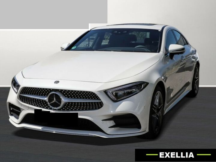 Mercedes CLS 300 d Coupé  BLANC PEINTURE METALISE  Occasion - 1