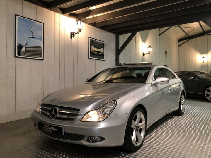 Mercedes CLS 320 CDI 224 CV BVA Gris - 2