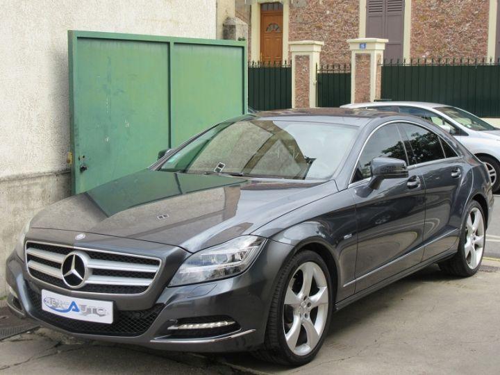 Mercedes CLS 350 CDI 265CH BLUEFFICIENCY GRIS FONCE Occasion - 1