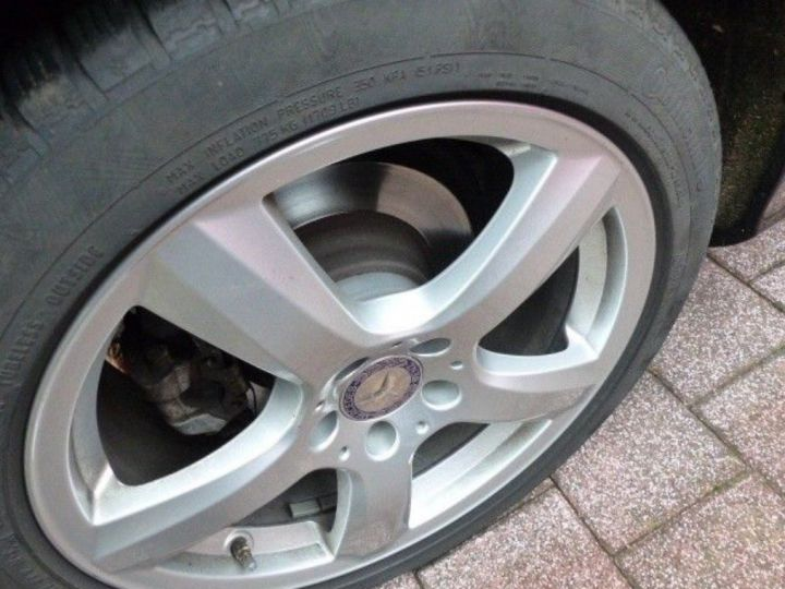 Mercedes CLS II 350 CDI 4MATIC 7 G-TRONIC(06/2014) noir métal - 4