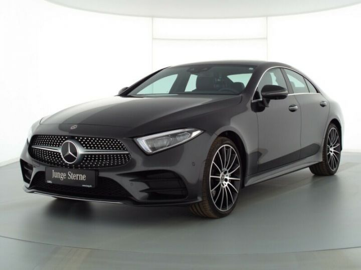 Mercedes CLS III 450 367ch AMG 9G-Tronic Gris Graphite - 1